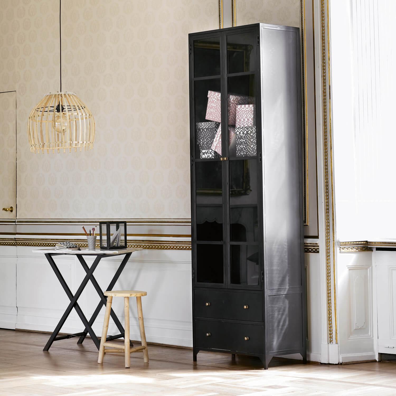 Tine K Home – Metallschrank in Anthrazit // Schwarz