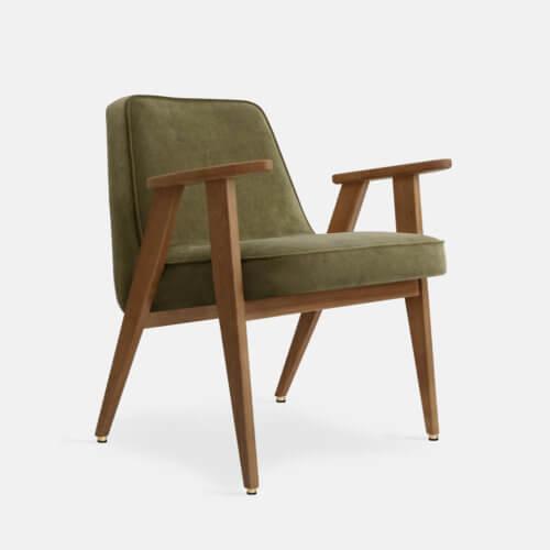 366-Armchair-W03-Velvet-Olive