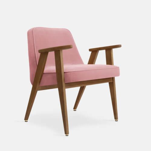 366-Armchair-W03-Velvet-Powder-Pink