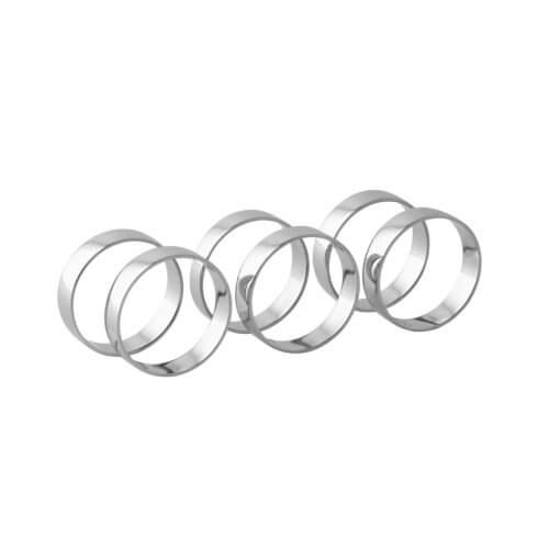 Broste Copenhagen – Serviettenring RING Silver