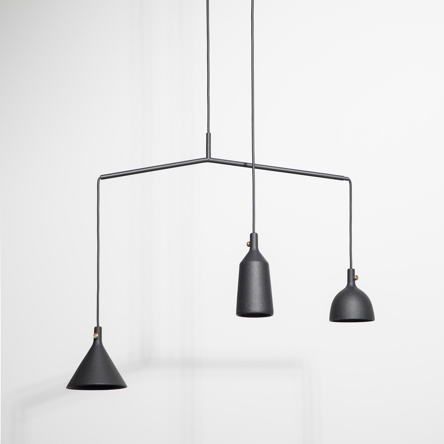 MENU – Cast Pendant Shape 3 & Shape 4 – Black