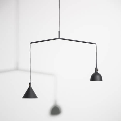 MENU – Cast Pendant Shape 4 – Black