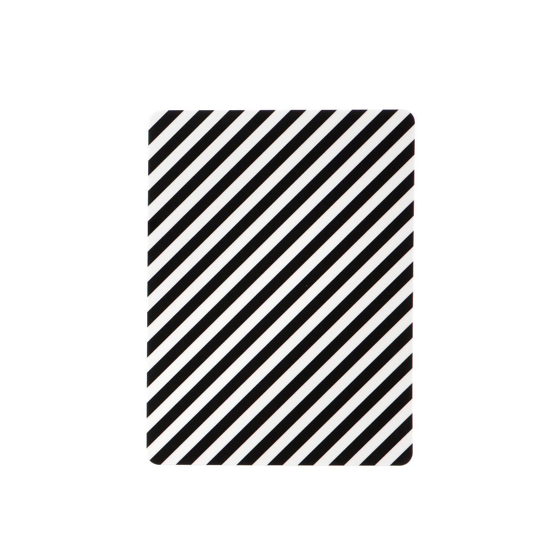 Ferm Living – Brett – Schwarz Gestreift