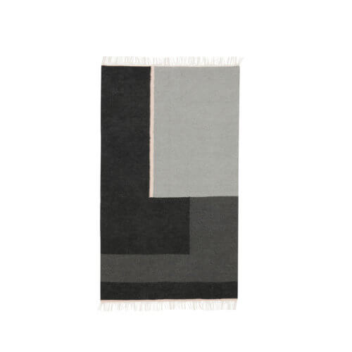 ferm Teppich Section Grau