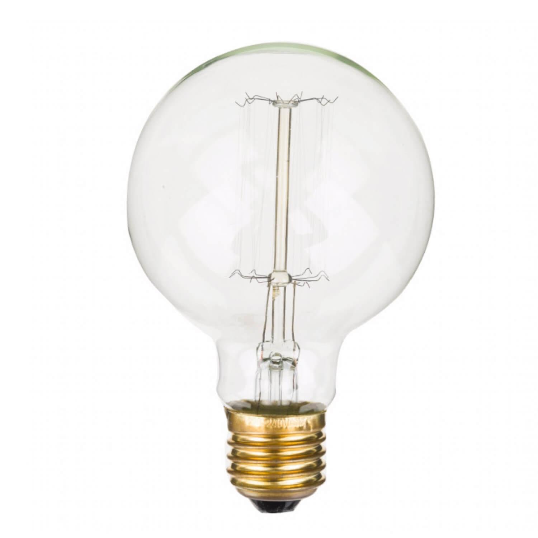 opjet paris gl hbirne edison style bulb rund 12 5 cm. Black Bedroom Furniture Sets. Home Design Ideas
