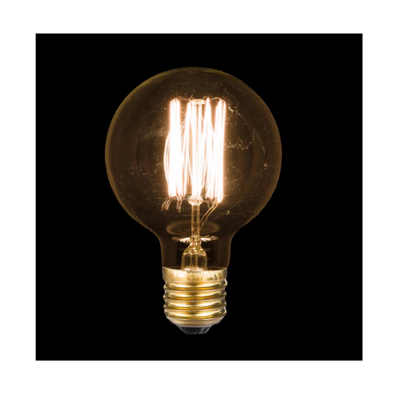 OPJET Paris – Glühbirne Edison Style – Bulb Rund Small
