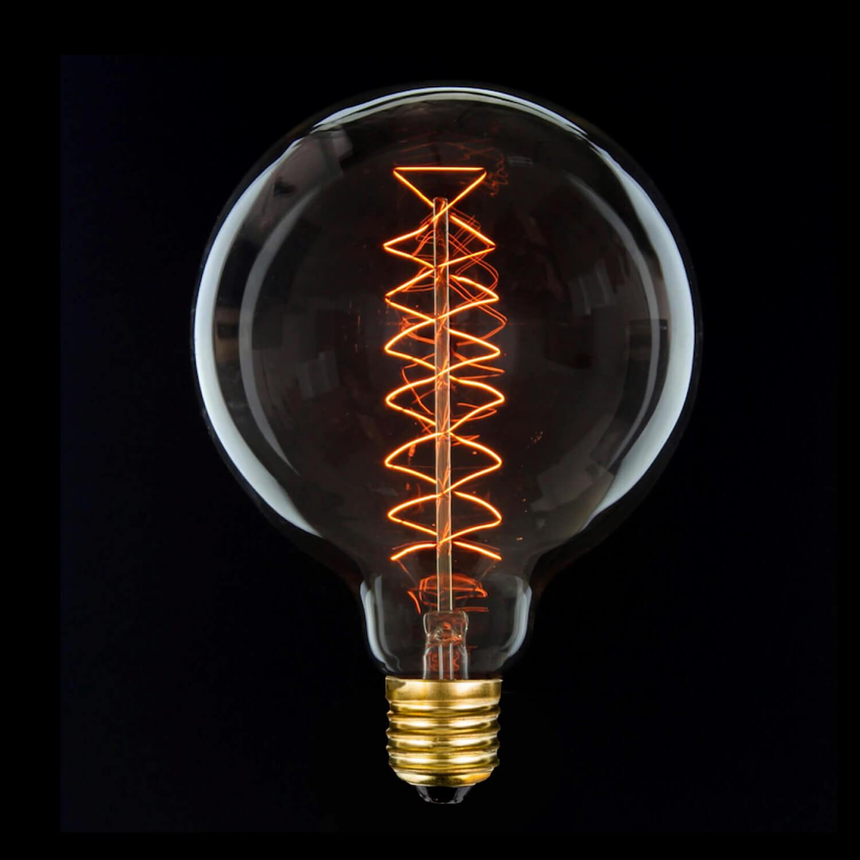 OPJET Paris – Glühbirne Edison Style – Bulb Rund Zick-Zack