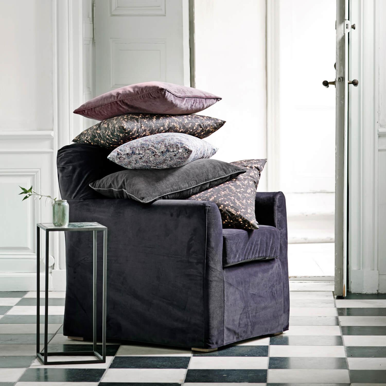 tine k home 2er set beistelltische metall d 30 x h 80 cm. Black Bedroom Furniture Sets. Home Design Ideas