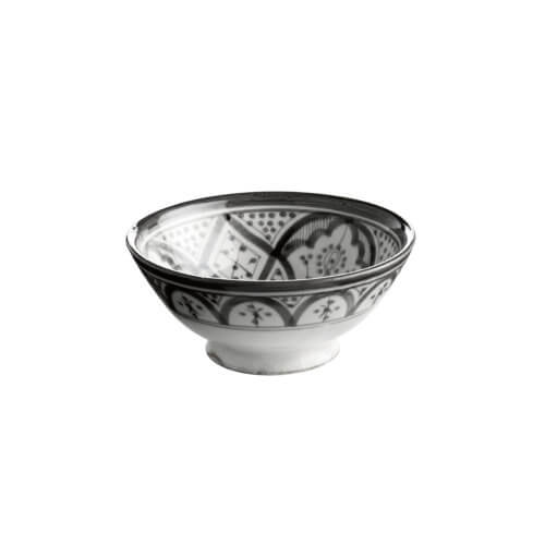 Tine K Home – Schale CEBOWL – Grau-Weiß