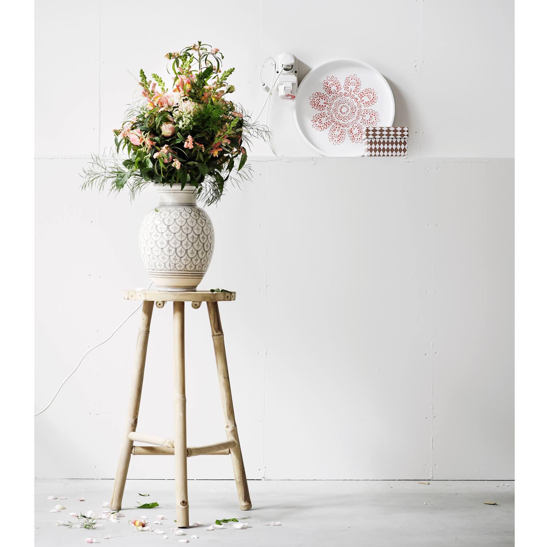 Tine K Home – Vase Peacook Muster