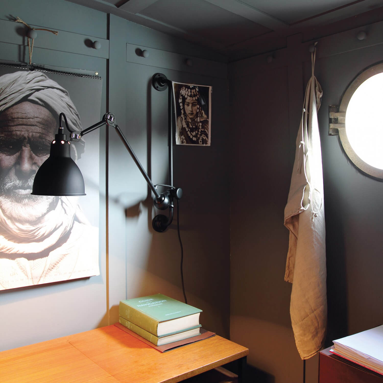 dcw les acrobates de gras wandleuchte no 210. Black Bedroom Furniture Sets. Home Design Ideas