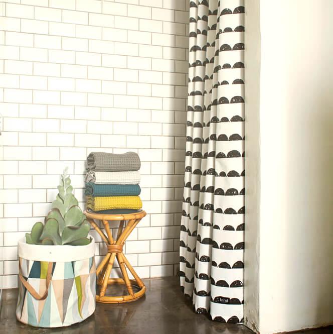 ferm living korb spear pastellfarben ca 35 x 40 cm. Black Bedroom Furniture Sets. Home Design Ideas