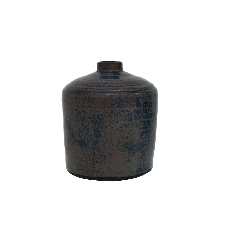 HK Living – Vase aus Keramik &erodiertem Finish