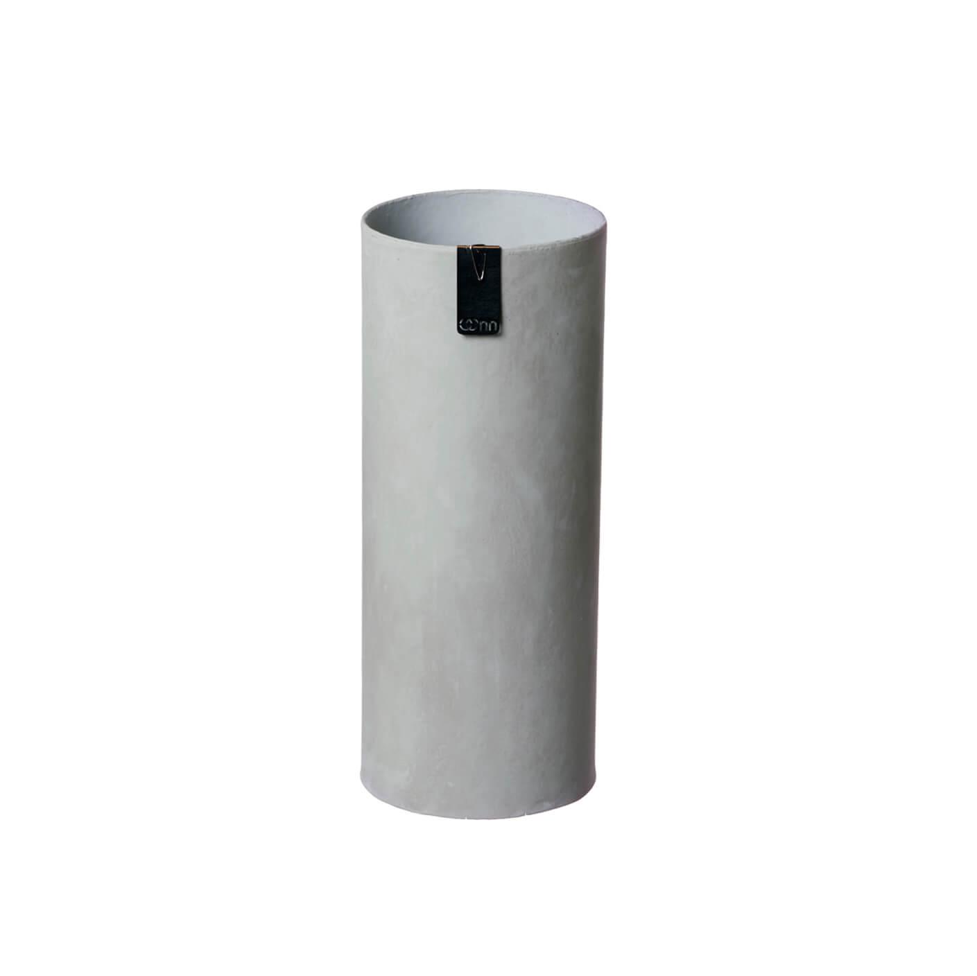 OOhh Kollektion – Vase Tokyo Cylinder – Grau