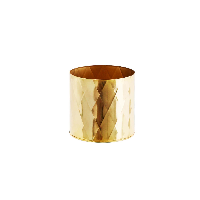 Madam Stoltz – Pott – Metall Gold