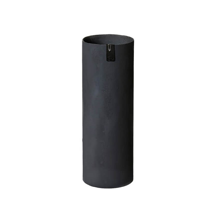 OOhh Kollektion – Vase Tokyo Cylinder – Schwarz