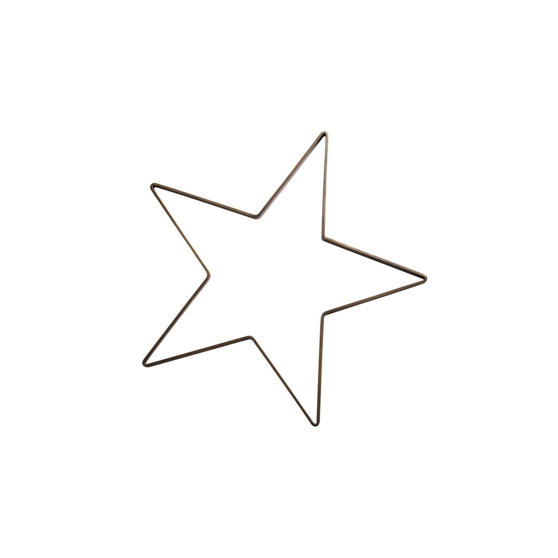 Tine K Home – Weihnachtsstern Antik Messing – Klein (S) – Ø 50 cm