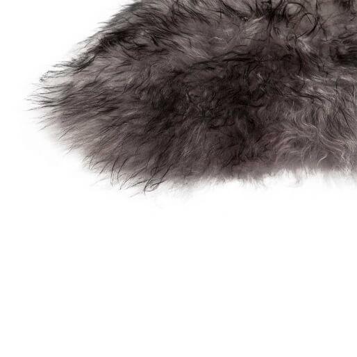 DYRESKINN – Isländisches Schaffell – Grau Meliert