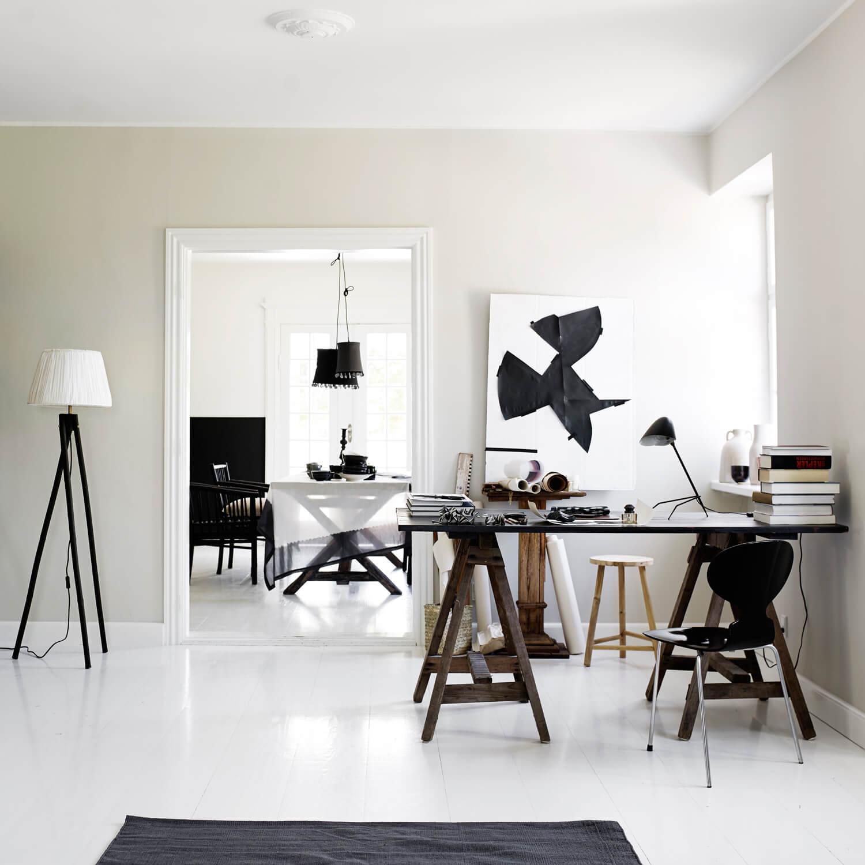 tine k home stehleuchte rattan varianten mit ohne schirm schwarz. Black Bedroom Furniture Sets. Home Design Ideas