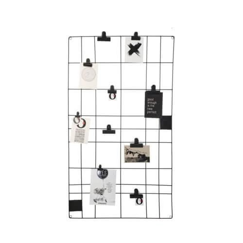 vtwonen – Memo-Board – Schwarz