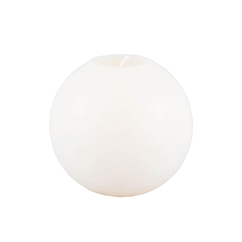 Broste Copenhagen – Kugelkerze Weiß