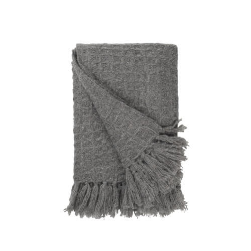 Cozy Living Copenhagen – Tagesdecke Grau – Muster