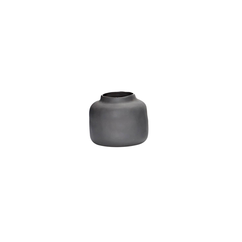 h bsch interior vase porzellan grau 9 x h 8 cm. Black Bedroom Furniture Sets. Home Design Ideas