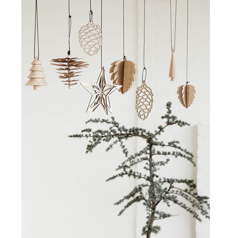 Huebsch – Weihnachtsschmuck – Holz