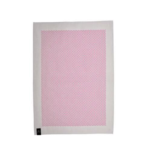 Kiss my Kitchen – Geschirrtuch – Muster Rosa-Grau