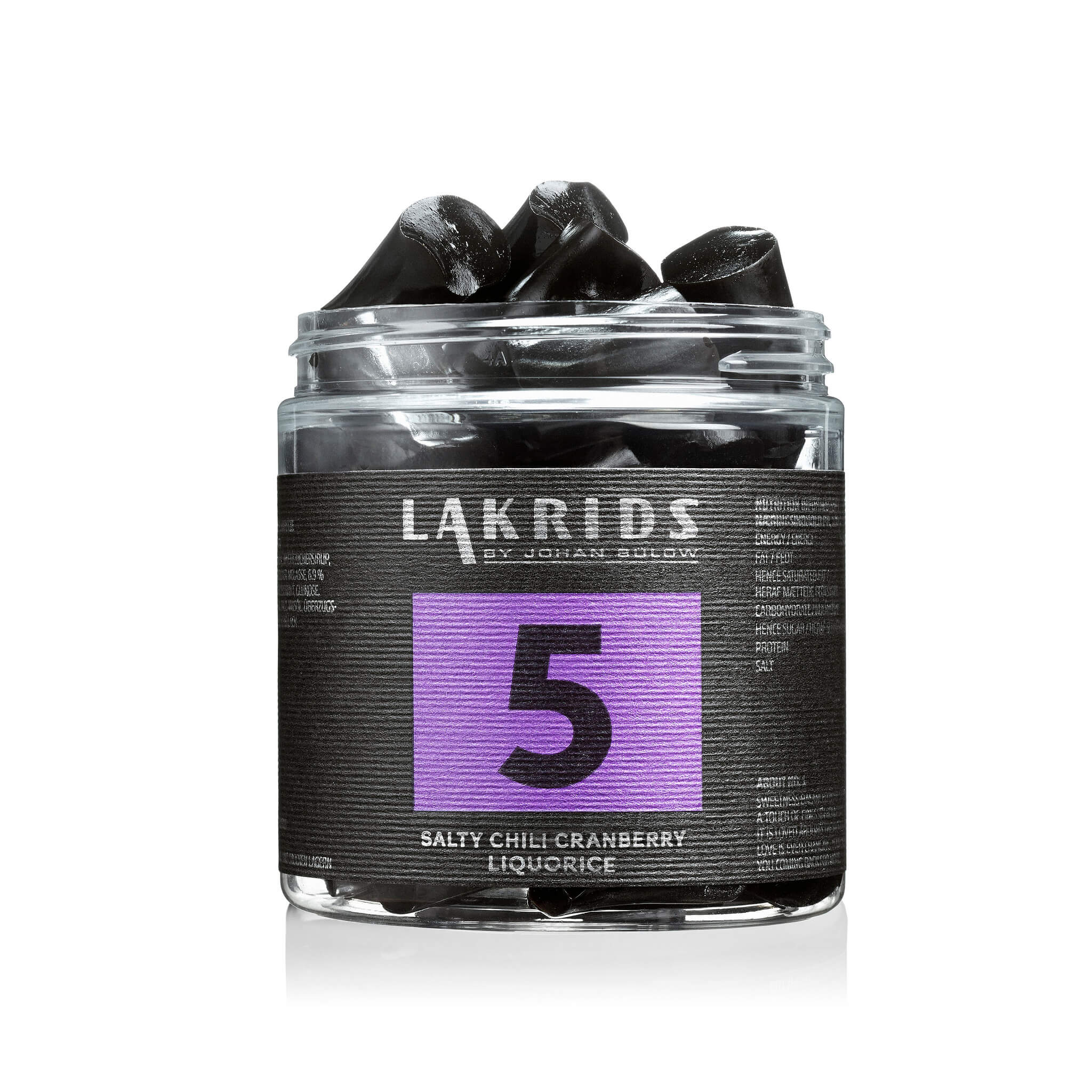 Lakrids – NO 5 Salty Chili Cranberry