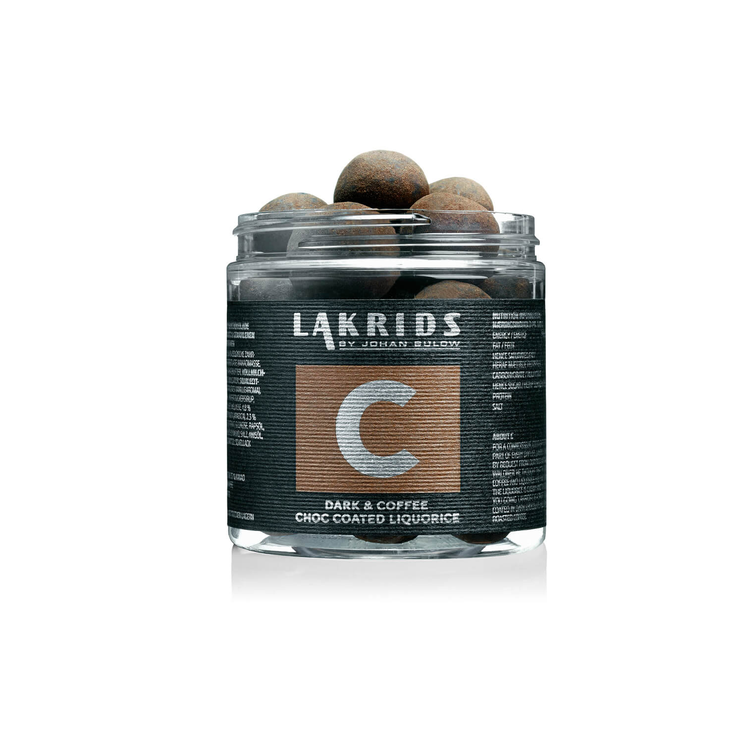 Lakrids – C Dark & Coffee Choc Coated Liquorice – Kaffee Lakritz