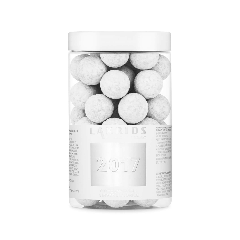 Lakrids – 2017 BIG White Snowball Crispy Choc Coated Ginger