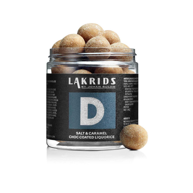 Lakrids – D Salt & Caramel Choc Coated Liquorice