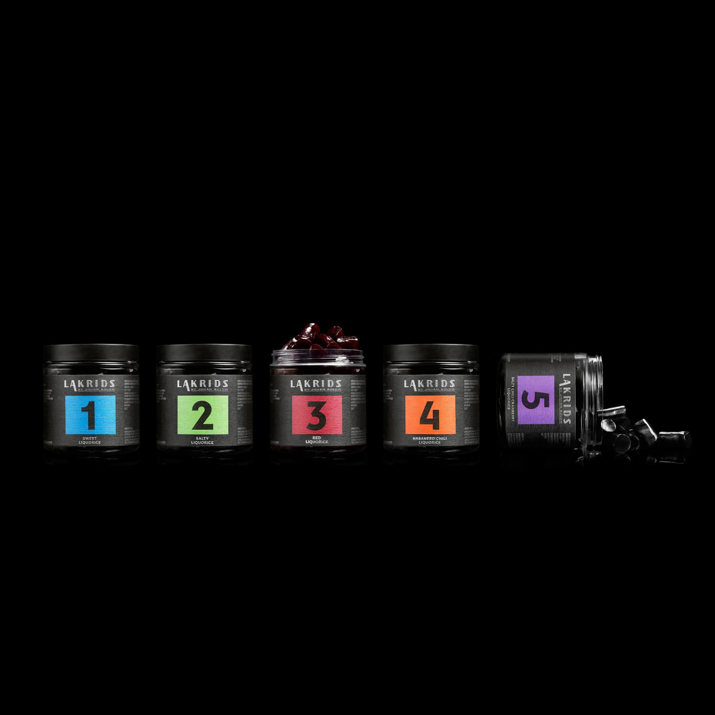 Lakrids – NO 1 Sweet Liquore – Süße Lakritz