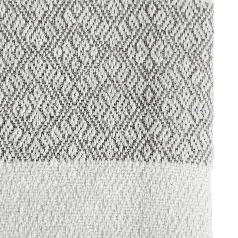 Tine K Home – Tagesdecke – Grau-Weiß