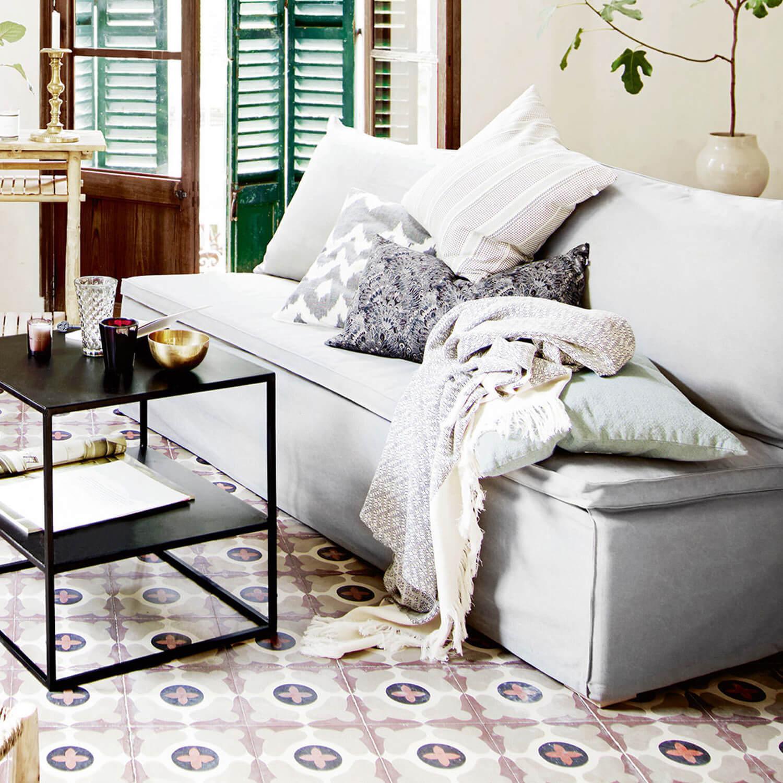 tine k home kissen sign print schwarz wei inkl inlet. Black Bedroom Furniture Sets. Home Design Ideas