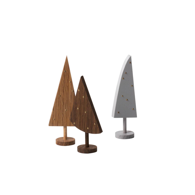ferm LIVING – 3er Holzbäume Winterland