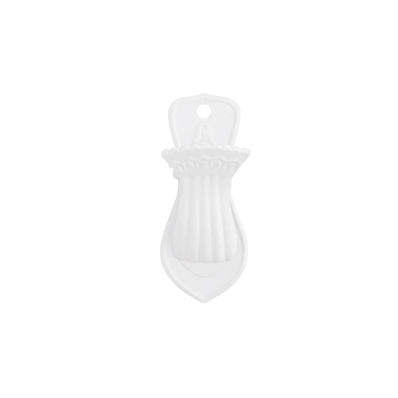 Madam Stoltz – Wand-Clip – Klammer – Weiß