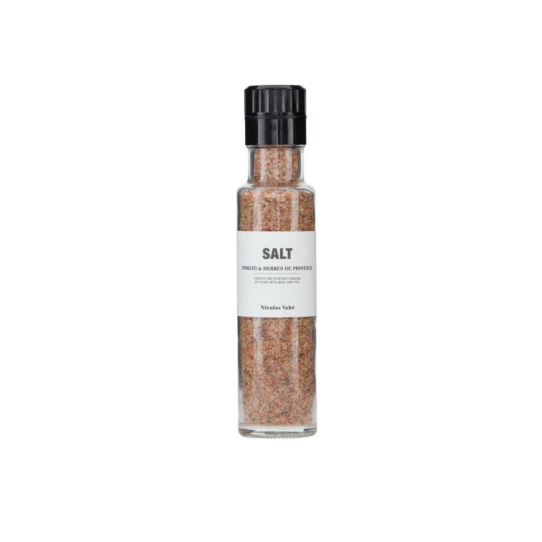 Nicolas Vahé – Glasmühle Salz mit Tomate & Kräuter der Provence
