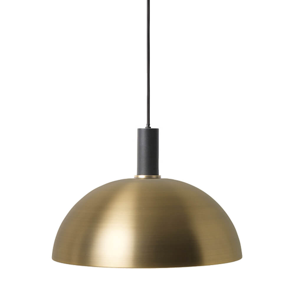 Ferm LIVING – COLLECT Lighting – Pendelleuchte Kurz – Dome – Messing