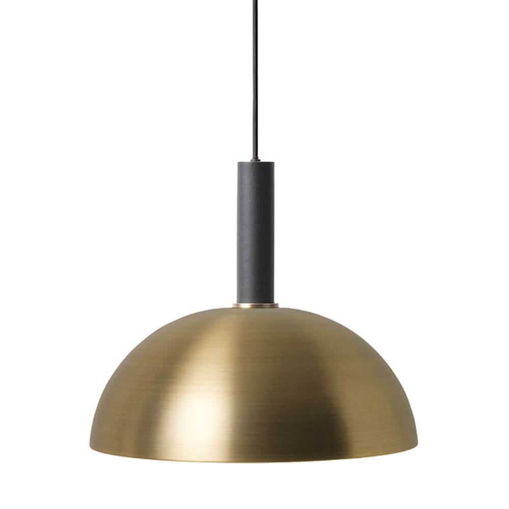 Ferm LIVING – COLLECT Lighting – Pendelleuchte Lang – Dome – Schwarz