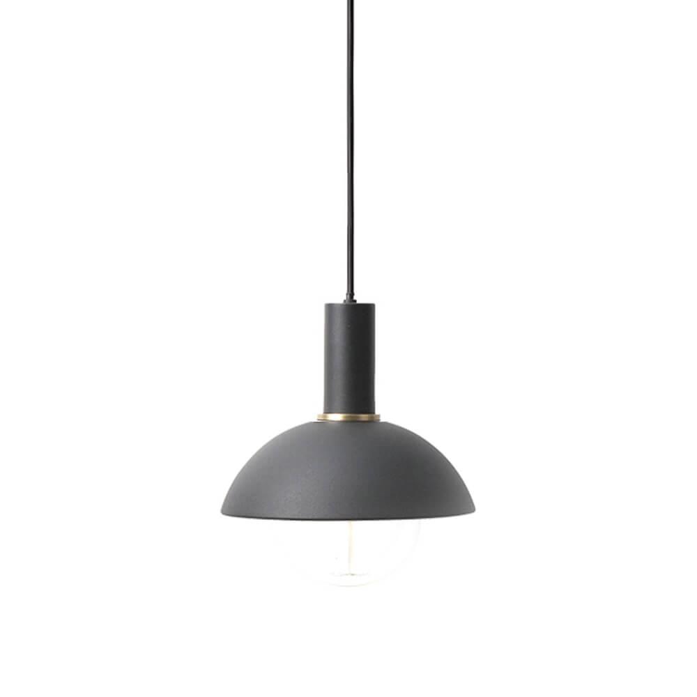 Ferm LIVING – COLLECT Lighting – Pendelleuchte Kurz – Hoop – Schwarz