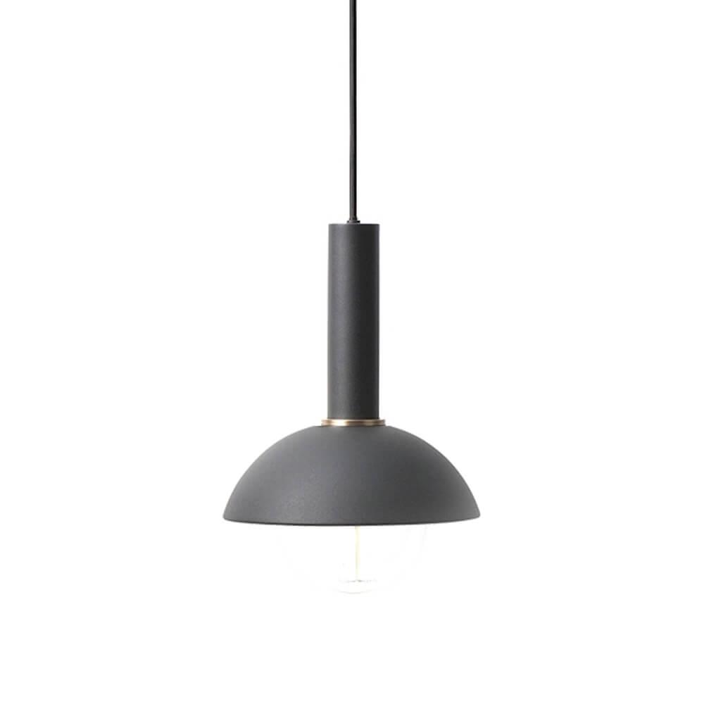 Ferm LIVING – COLLECT Lighting – Pendelleuchte Lang – Hoop – Schwarz