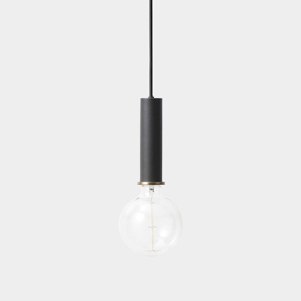 Ferm LIVING – COLLECT Lighting – Pendelleuchte Lang – Schwarz