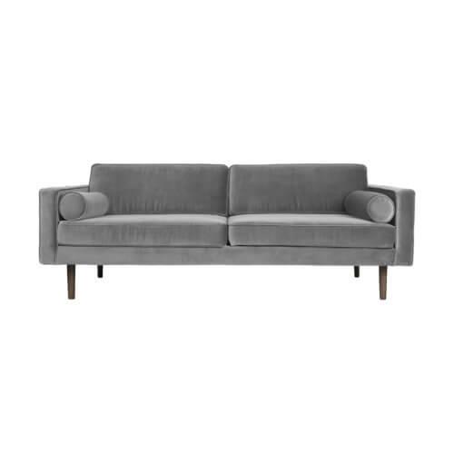 Broste Copenhagen – Sofa WIND – Samt Grau