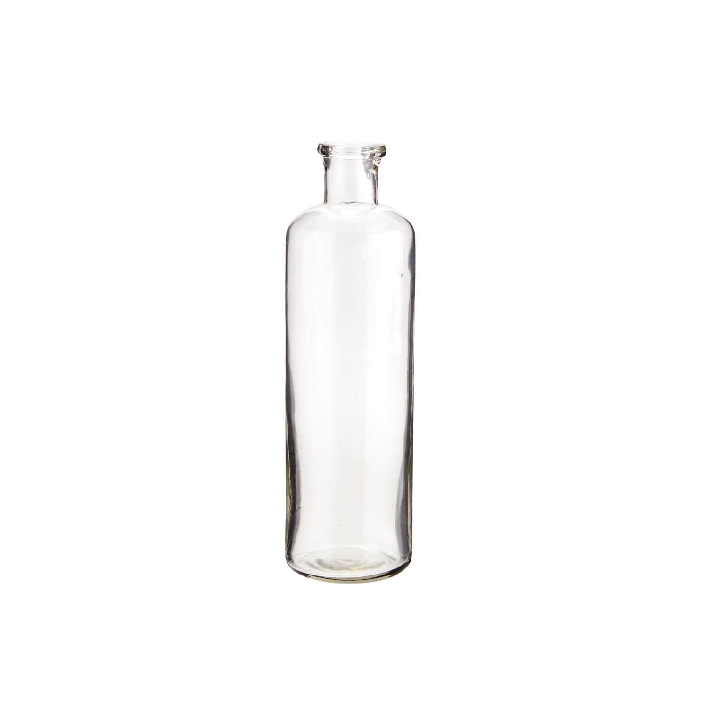 Madam Stoltz – Zylinder-Vase aus recyceltem Glas – S