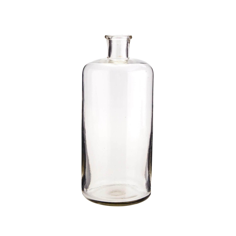 Madam Stoltz – Zylinder-Vase aus recyceltem Glas – L