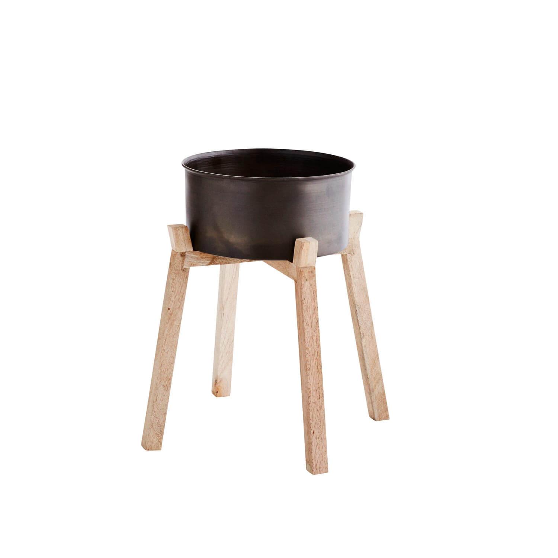madam stoltz tabatt tisch klein 27 x 14 h44 cm. Black Bedroom Furniture Sets. Home Design Ideas