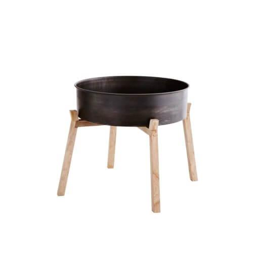 madam stoltz tabatt tisch gro 47 x 14 h44 cm. Black Bedroom Furniture Sets. Home Design Ideas