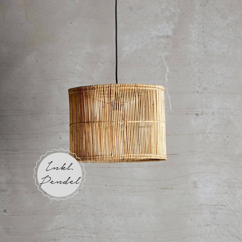 Tine K Home – Lampe Rattan
